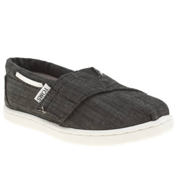 Toms Black Bimini Boys Toddler
