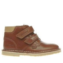 Kickers Tan Adlar Twin Boys Toddler