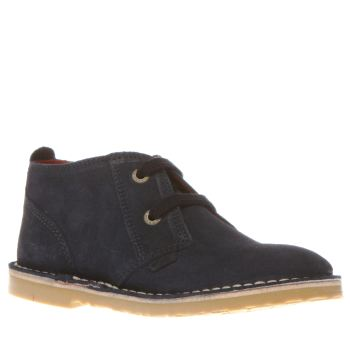 Kickers Navy Adlar Desert Boys Toddler