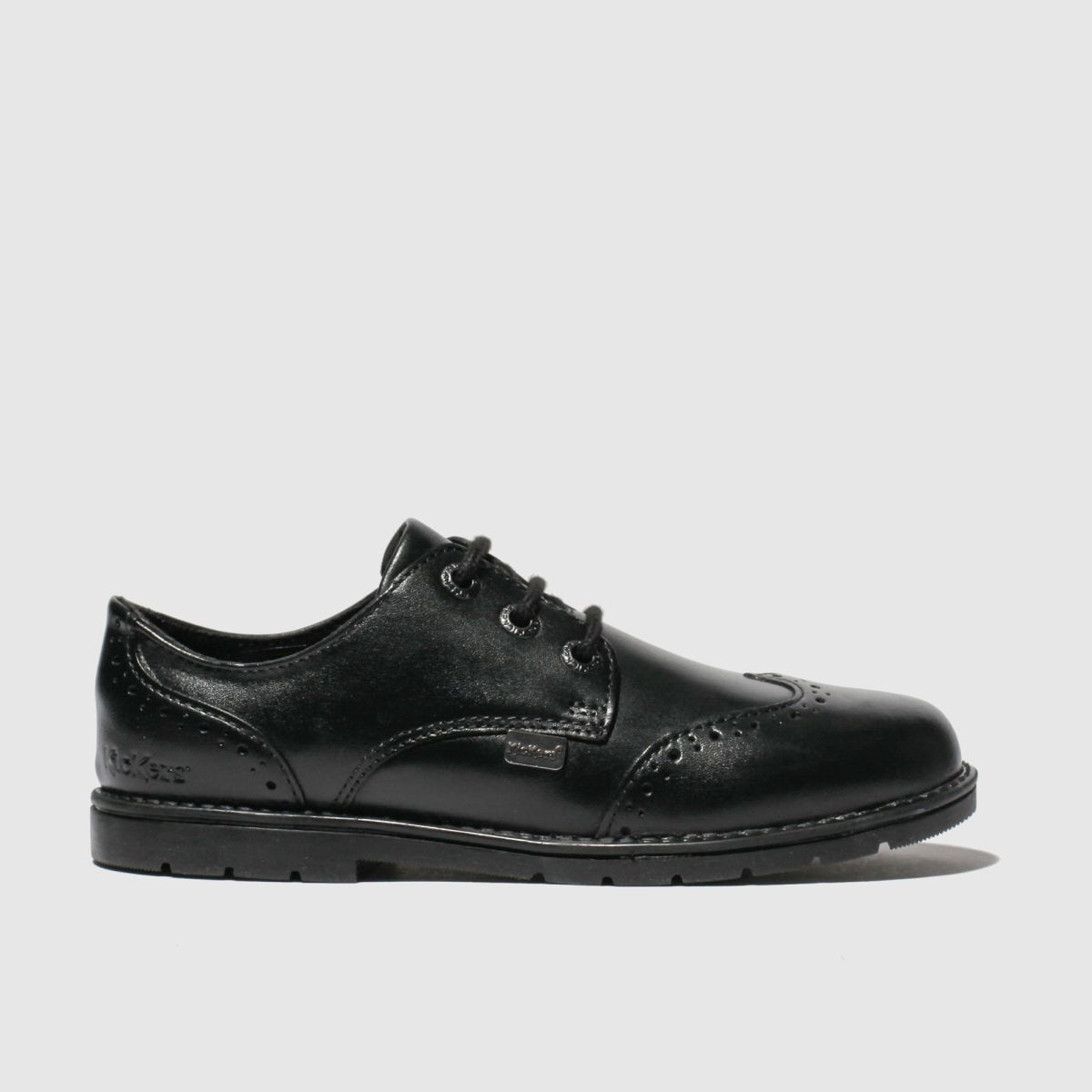 Kickers Kickers Black Orin Brogue Lo Shoes Toddler