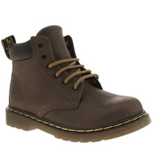 Dr Martens Dark Brown Padley Boys Toddler