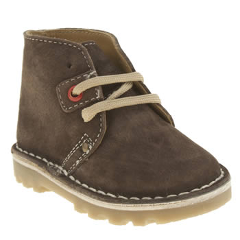 Hush Puppies Dark Brown Si Boys Toddler