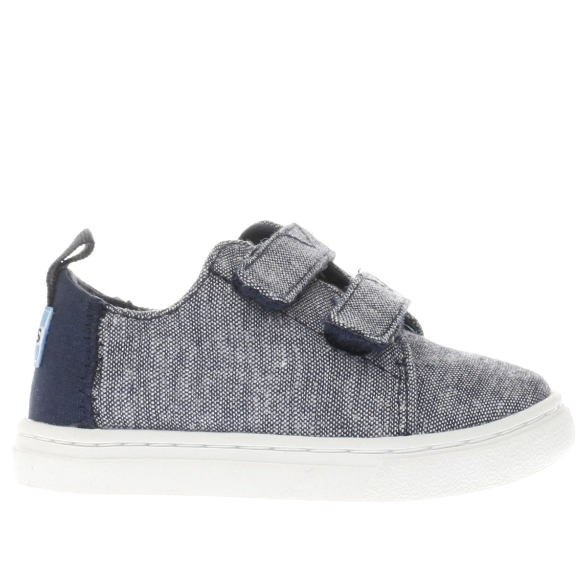 toms navy lenny sneaker Boys Toddler Shoes