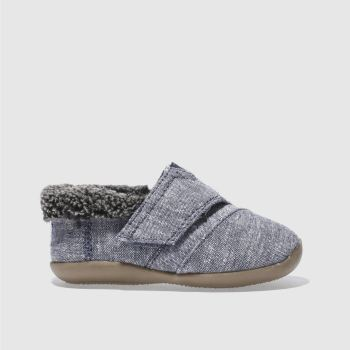 Toms Navy HOUSE SLIPPER Boys Toddler