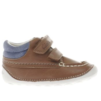 Clarks Tan Tiny Tuktu Boys Toddler