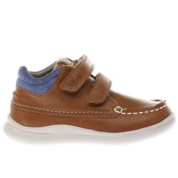 Clarks Tan Cloud Tuktu Boys Toddler