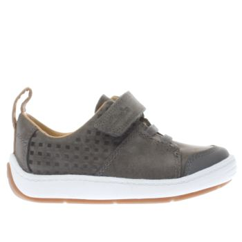 Clarks Grey MAXI TAKE Boys Toddler