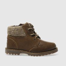 Ugg Australia Brown Orin Wool Boys Toddler