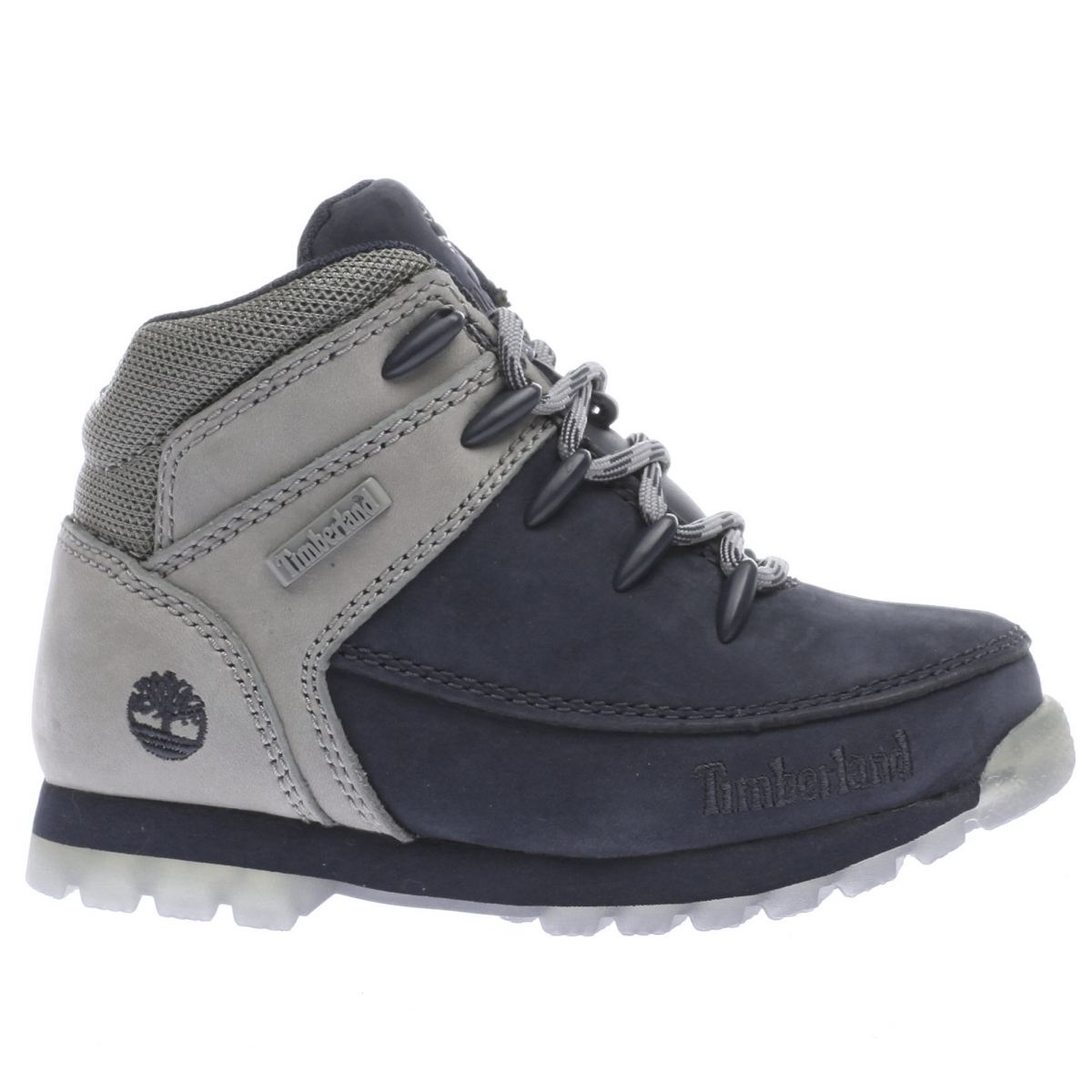 timberland navy & grey eurosprint Boys Toddler Boots