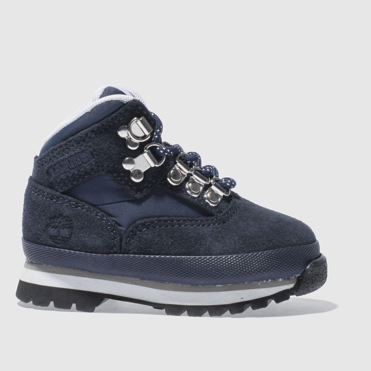 timberland navy & white euro hiker Boys Toddler Boots