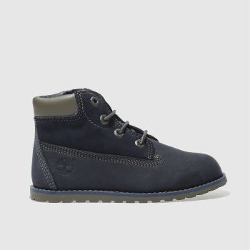 Timberland Navy Pokey Pine Boys Toddler
