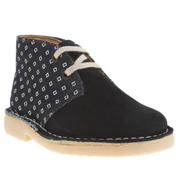Clarks Originals Navy Desert Boot Boys Toddler