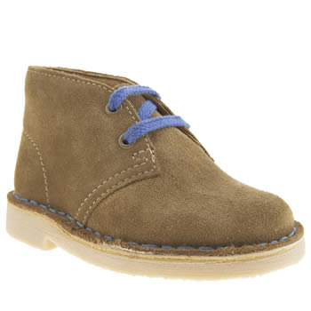 Clarks Originals Tan Desert Boot Boys Toddler