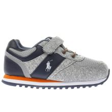 Polo Ralph Lauren Grey & Navy Slaton Boys Toddler