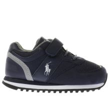 Polo Ralph Lauren Navy & Grey Slaton Boys Toddler