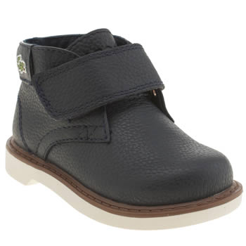 Lacoste Navy Sherbrooke Hi Boys Toddler