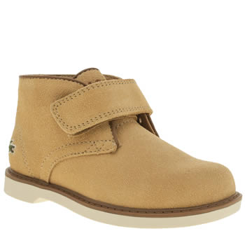 Lacoste Tan Sherbrooke Boys Toddler