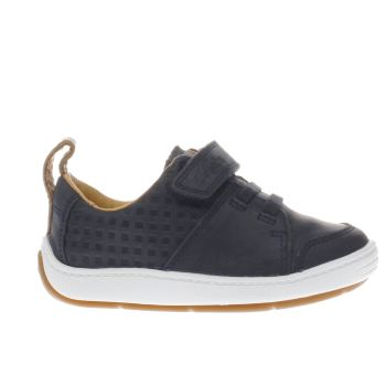 Clarks Navy Maxi Take Fst Boys Toddler
