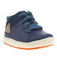 Clarks Blue Maxi Made Fst Boys Toddler