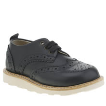 Young Soles Navy Brando Brogue Boys Toddler