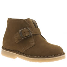 Young Soles Tan Harry Boys Toddler