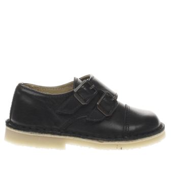 Young Soles Black Stuart Boys Toddler