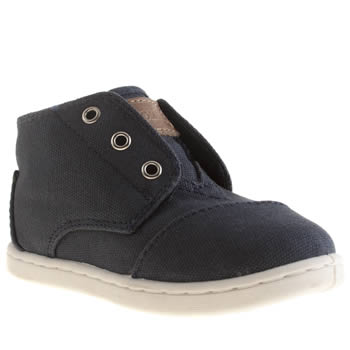 Toms Navy Paseo Mid Boys Toddler