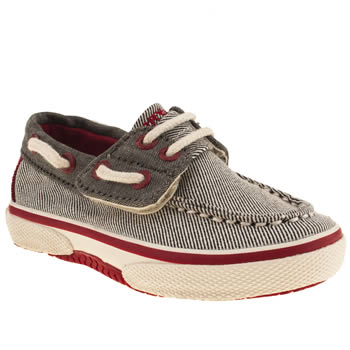 Sperry Grey Halyard Boys Toddler