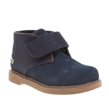 Lacoste Navy Sherbrook Boys Toddler