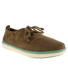 Junior Brown Timberland Hookset Oxford