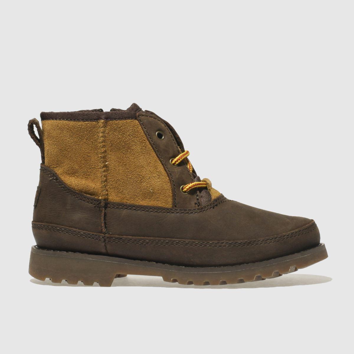 Ugg Dark Brown Bradley Boots Junior