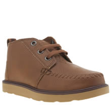 Toms Brown Chukka Boot Boys Junior