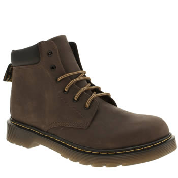 Dr Martens Dark Brown Padley Boys Junior