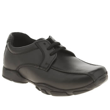 Hush Puppies Black Vincente Boys Junior