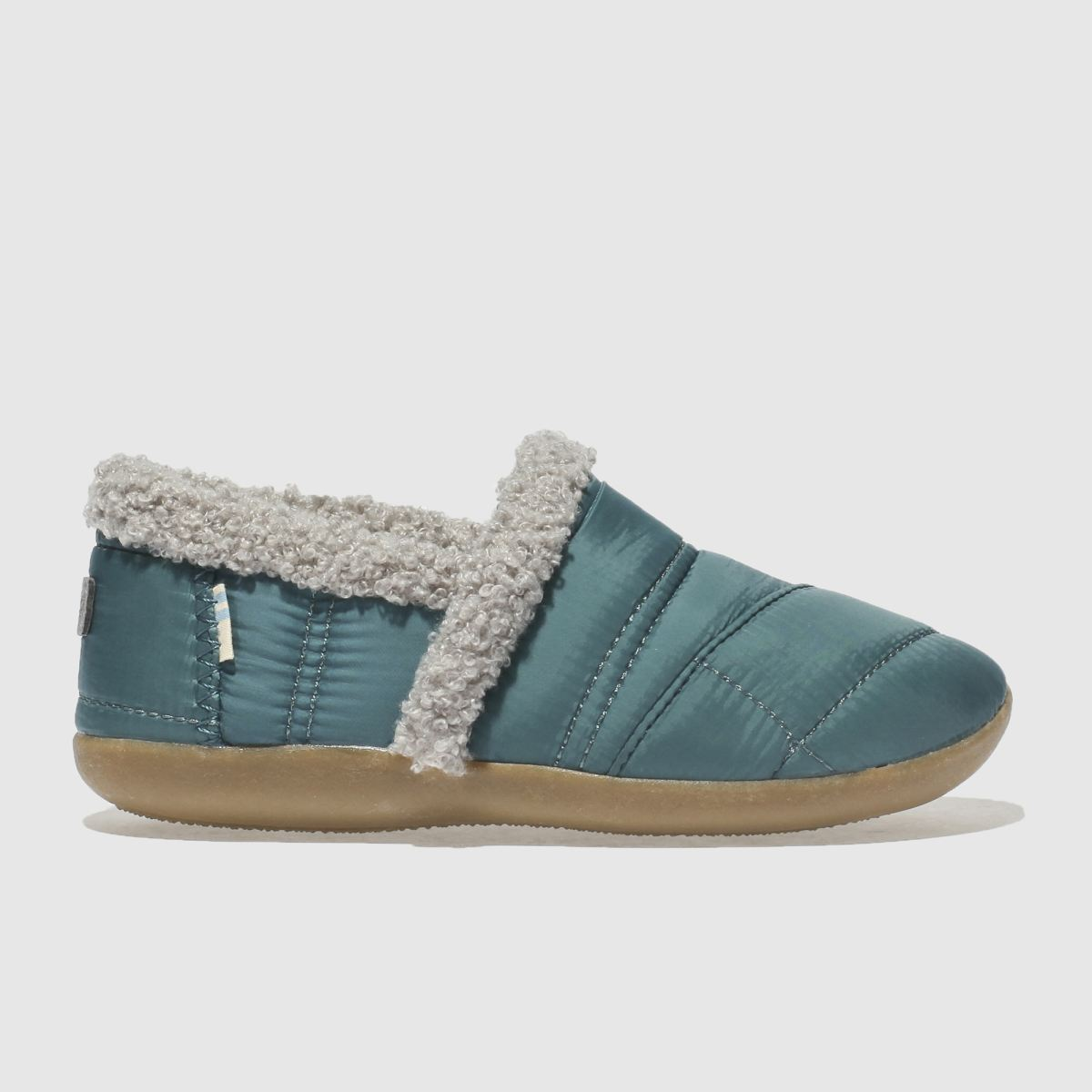 Toms Blue House Slipper Boots Junior