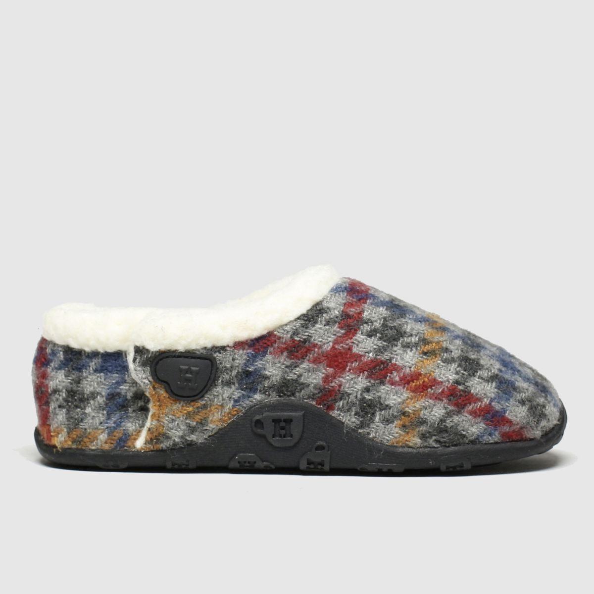Homeys Homeys Grey & Red Patrick Boots Junior