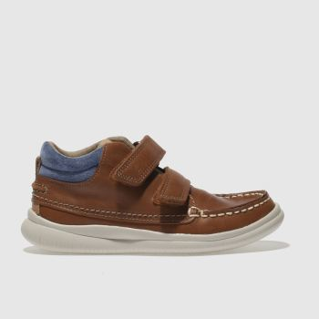 Clarks Tan TUKTU Boys Junior