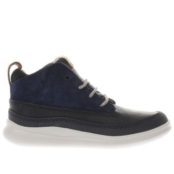 Clarks Navy Cloud Air Boys Junior