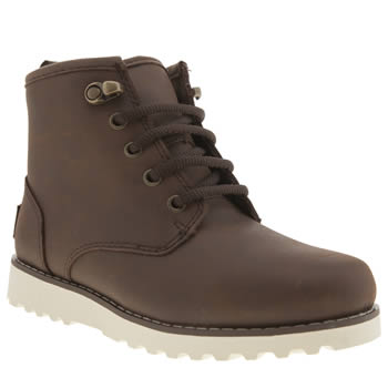 Ugg Australia Dark Brown Maple Boys Junior