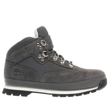 Timberland Grey Euro Hiker Boys Junior
