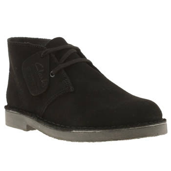 Clarks Originals Black Desert Boys Junior