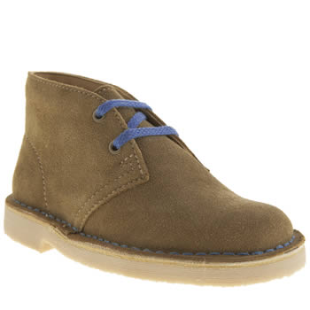 Clarks Originals Tan Desert Boot Boys Junior