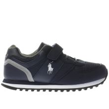 Polo Ralph Lauren Navy & Grey Slaton Boys Junior