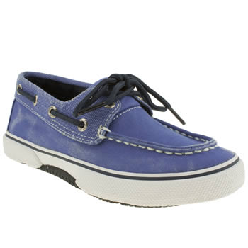 Sperry Blue Halyard Boys Junior