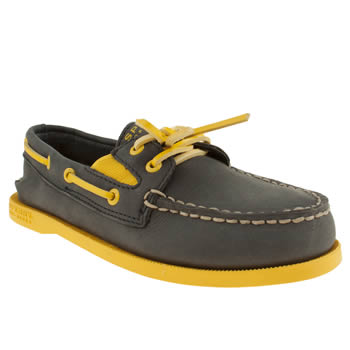 Sperry Navy A/o Gore Boys Junior