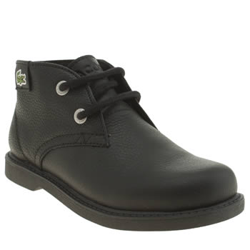 Lacoste Black Sherbrooke Hi Boys Junior