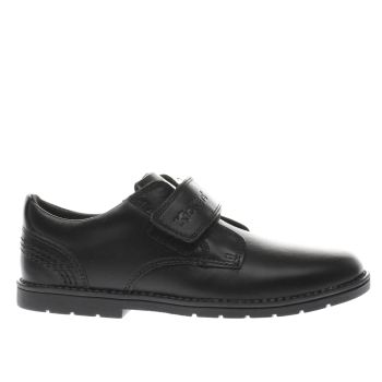 Kickers Black Kick Orin Strap Boys Junior