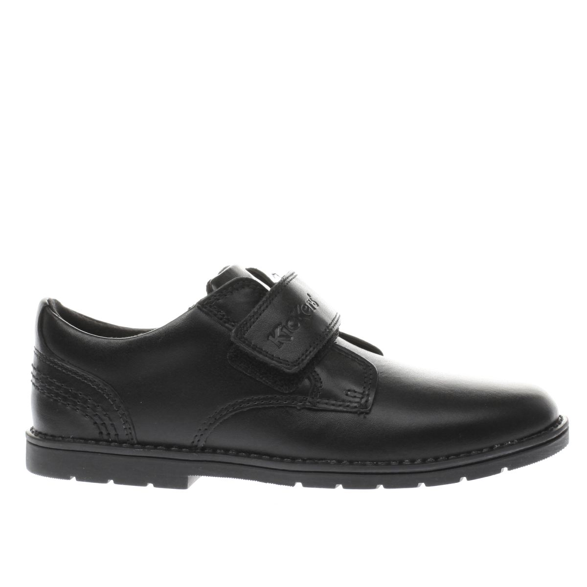 kickers black kick orin strap Boys Junior Shoes