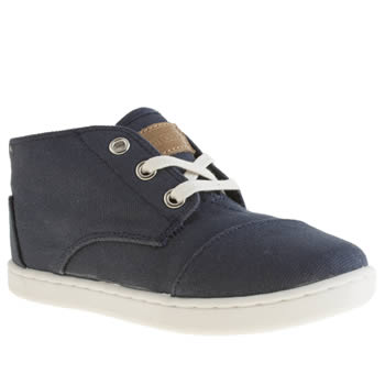 Toms Navy Paseo Mid Boys Junior