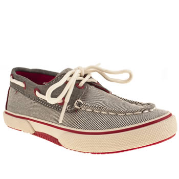 Sperry Grey Halyard Boys Junior